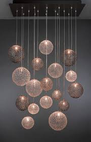 nice glass modern chandelier alluring modern glass chandelier also