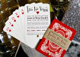 Playing Card Design Template Playing Card Wedding Invitations By Anticipation An Invitation