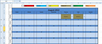 Monthly Planning Calendar Template Excel Printable Monthly Calendar 2016 Excel Template Monthly Planner