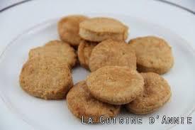 chataigne cuisine recette biscuits salés à la chataigne la cuisine familiale un