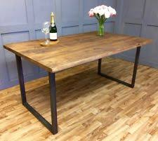 Dining Table Rustic Rustic Dining Table Ebay