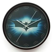 Decorative Metal Wall Clocks Decorative Mirror Wall Clocks The Dark Knight Batman Metal