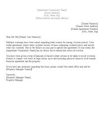 written notice letter template 28 images 11 notice of