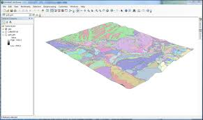 Uccs Map Lab Five Geovisualization And Pattern Discovery Draping Geology