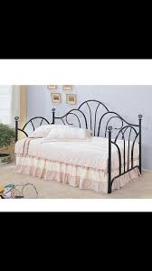 daybed with trundle twin black iron furniture in davie fl