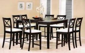8 Chair Dining Table Set Light Wood Counter Height Dining Sets Foter