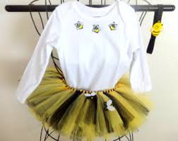 Bumble Bee Baby Halloween Costumes Bee Costume Etsy