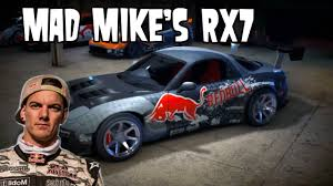 mad mike rx7 nfs speed art mad mike u0027 rx7 youtube