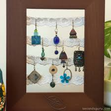 Home Decoration Pieces Tips U0026 Tricks Transform Old Junk Jewellery Into Stylish Home