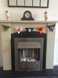halloween bunting knitting pattern decoration knitted banner