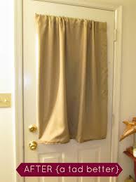 Curtain Door Panels Oh Scrap That Diy Door Curtain
