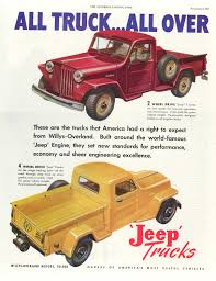 jeep print ads all truck all the time jeeps jeep willys and ads