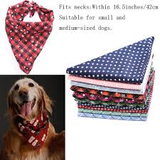 Snowflake Dog Scarf Bandana Bib Pet Grooming Accessories Triangular