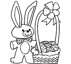 color easter bunny