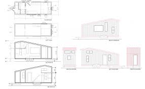 100 floor plan with elevation and perspective house plans