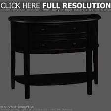 Black Semi Circle Accent Table Semi Circle Console Table Luxury