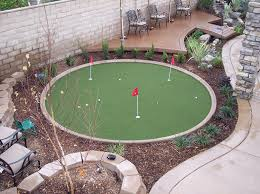 How To Make A Putting Green In Your Backyard How To Make A Putting Green In Your Backyard Better Homes And