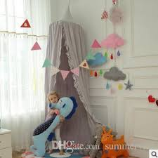Girls Princess Canopy Bed by Boys Girls Princess Canopy Bed Valance Kids Room Decoration Baby