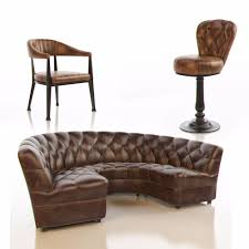 curved leather couch sofas amazing circle settee curved leather sectional sofa round