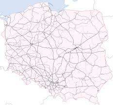 Spain Train Map rail transport in poland wikipedia
