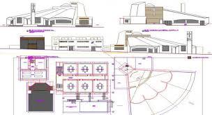 architectural plan autocad file chapel architectural plans