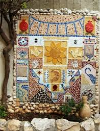 Garden Wall Decoration by Wall Mosaic Designs Tamora658139s Soup Style Home Interior