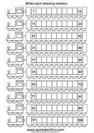 missing numbers 1 100 6 worksheets printable worksheets