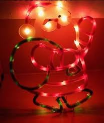 christmas light suction cups christmas instant decor lighted santa 43 mini lights suction cup 17