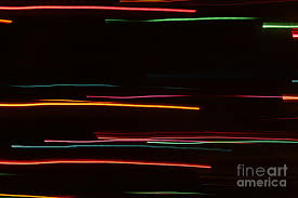 abstract motion lights photograph by henrik lehnerer