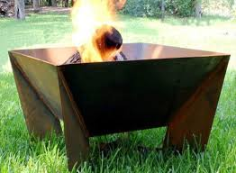 Outdoor Metal Fireplaces - metal fire pit walmart home fireplaces firepits outdoor metal