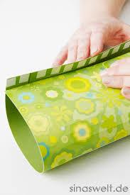 wohnideen zu basteln diy tischlaterne aus papier selber basteln sina s welt