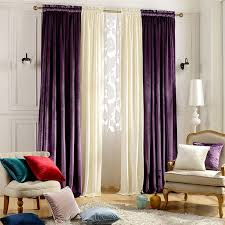 Plum Velvet Curtains What Color Go With Purple For House Check It Out Living