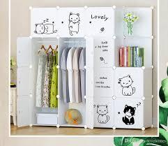 furniture wardrobe bedroom nonwoven wardrobes cloth storage saving