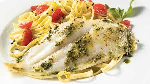 cuisiner poisson surgelé filet de sole au pesto recettes iga poisson basilic recette rapide
