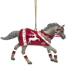 the trail of painted ponies crimson joy christmas ornament
