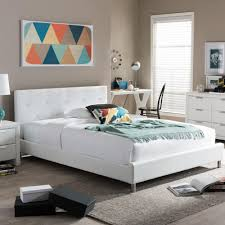 Modern Super King Size Bed Home Decorators Collection Chennai White Wash King Platform Bed