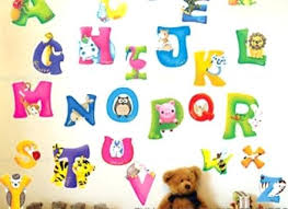 Wall Letter Decals For Nursery Wall Letter Decals For Nursery As Well As Large Animal Alphabet