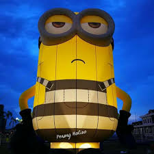 Blow Up Lawn Decorations Jail Bird Minion Blow Up Yard Decoration Anything Minions