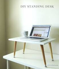 Diy Standing Desk Plans by Desk Stand Up Computer Desk Design Standing Desk Design Get