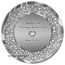 25th anniversary plates silver jewelry 25th wedding anniversary silver jewelry beautiful