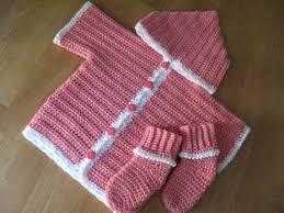 New Crocheted Baby Hoodie Pattern From Bernat Wee Baby Stuff