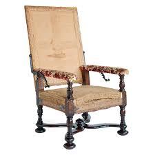 fauteuil de malade grand scale walnut fauteuil malade at 1stdibs