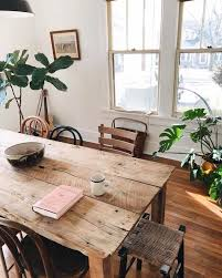 Light Wood Dining Room Sets 25 Best Natural Wood Dining Table Ideas On Pinterest Wood