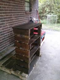 pallet book shelf 6 steps