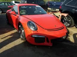 salvage porsche 911 for sale 2016 porsche 911 gt3 for sale ga atlanta salvage cars
