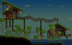 terraria tree house designs related keywords suggestions cool