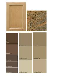 Kitchen Cabinet Paint by Match A Paint Color To Your Cabinet And Countertop Interior