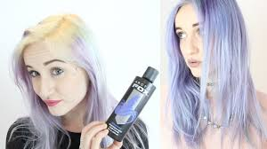 periwinkle hair style image periwinkle arctic fox hair dye experiment youtube