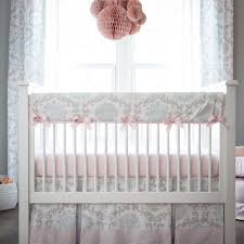 pink and grey crib bedding decorate my house