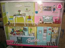 Deluxe Kitchen Play Set by Barbie Mattel Home Furniture Deluxe Gift Set Kitchen U0026 Living Room